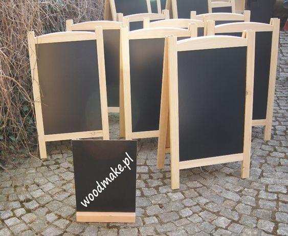 tablica reklamowa drewniana potykacz TS2 Wymienne tablice, serwis