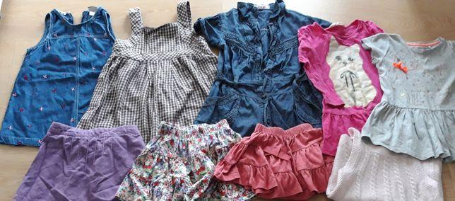 Spódniczki sukienki 92 98 h&m