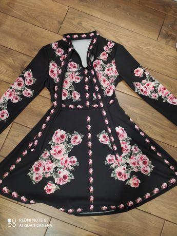 Sukienka roz z metki uniwersalny. Lecz sukienka to roz s/m
