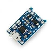 Ładowarka z PCM BNS Li-ion Li-ion TP4056 mikro USB z zabezpieczeniem