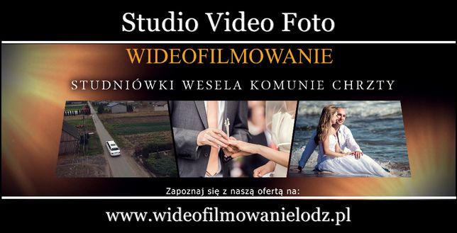 Filmowanie + fotograf - profesjonalnie, ŁÓDZKIE
