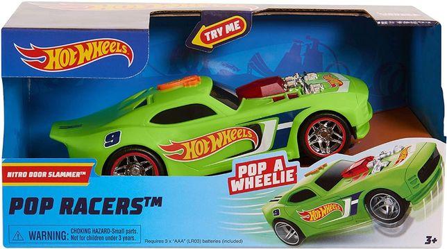 Моторизированная машинка Хот Вилс Hot Wheels Poppin Wheelie Nitro Door