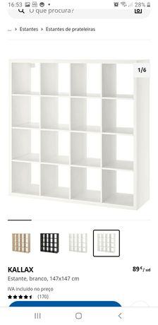 Ikea Kallax branco 4x4