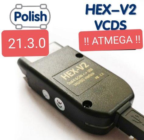 VCDS 21.3.0 PL HEX V2 Atmega VAG AUDI VW SKODA 100% OK !!
