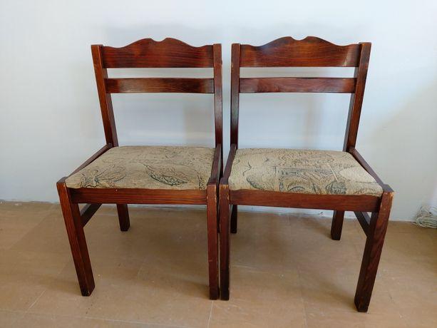 krzesla drewniane 6szt