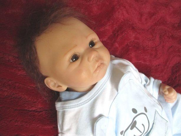 Lindo Bebe Reborn Real com cabelo MoHair