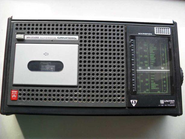 Grundig radiomagnetofon mk 2500