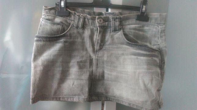Spódnica jeansowa mini H&M rozmiar 38
