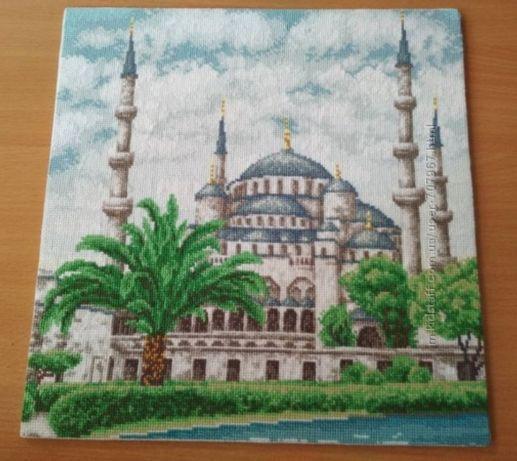 """Картина вышивка Мечеть"""""""