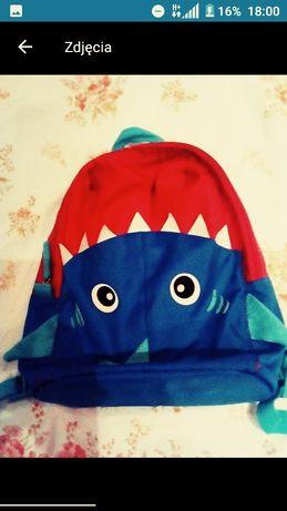 Plecak rekin dla chłopca