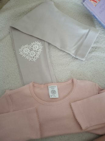 Bluzeczka Lindex 110 bluzka Top t shirt