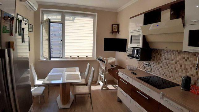 2-х комнатная квартира с ремонтом и мебелью в новом доме на Таирово