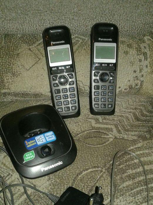 Panasonic телефон на две трубки Кривой Рог - изображение 1