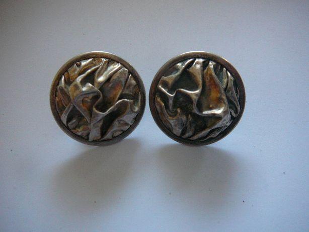 Kolczyki srebro stare
