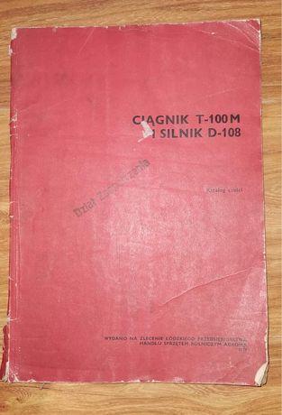 Katalog ciągnik staliniec T-100M silnik D-108
