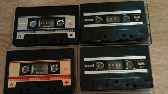 Аудиокассеты Maxell 1980-86 или обмен на другие кассеты  Maxell