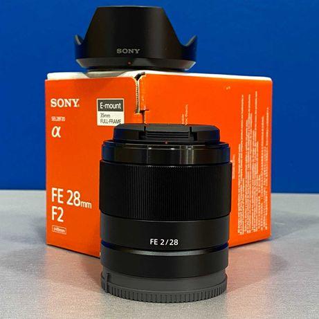 Sony FE 28mm f/2 (NOVA - 2 ANOS DE GARANTIA)
