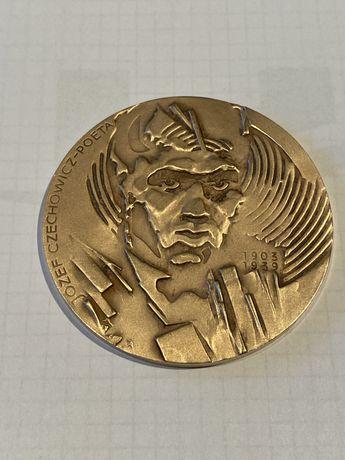 Medal Józef Czechowicz- Poeta 1980. Mennica Państwowa