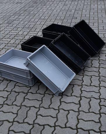 Pojemniki magazynowe 600x400x150mm , 60x40x15cm skrzynki plastikowe