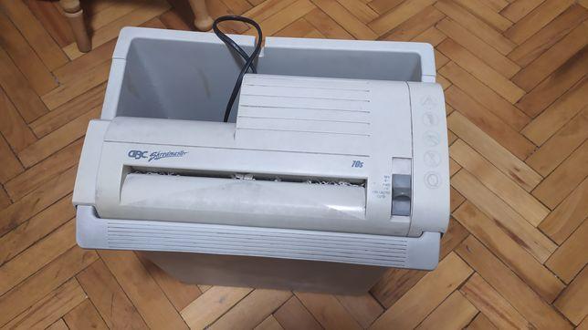 БУ Офисный шредер Quartet 70S-2, электрический