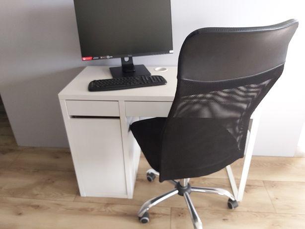 Zestaw Biurko ikea + fotel obrotowy