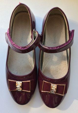 Туфлі Нарядні дитячі для дівчинки взуття 36 розмір