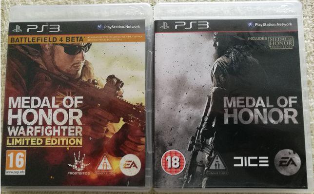 GRY PS3 - MEDAL OF HONOR - 2 Części - Playstation 3 - Zestaw Gier