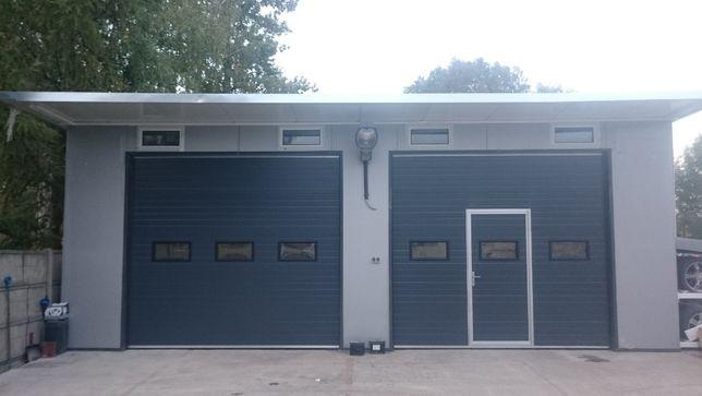 PRODUCENT brama segmentowa garażowa przemysłowa bramy garażowe KRAKÓW