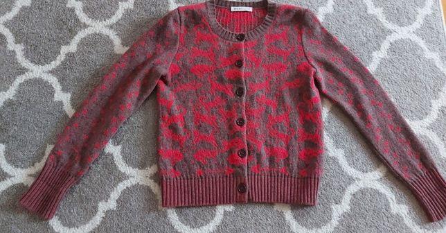 Sweterek sweter damski rozpinany kardigan See By Chloe w koty 36 S