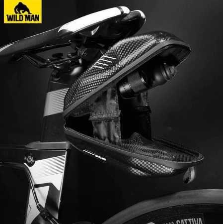 Bolsa impermeável para selim bicicleta NOVA