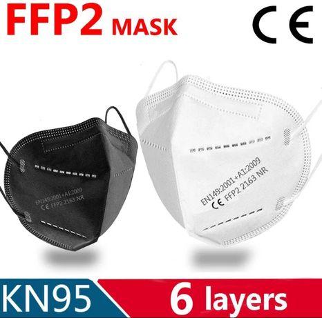 Маска/респиратор защитная/производственная. Ffp2 Kn95 Строительная