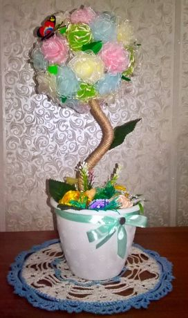 Топиарий-дерево счастья.