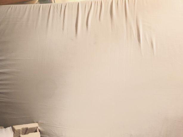 Materac piankowy 160x80 pokrowiec zdejmowany 6cm grubości