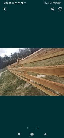 Belki Tarcica ogrodzenia ranczo modrzewiowe