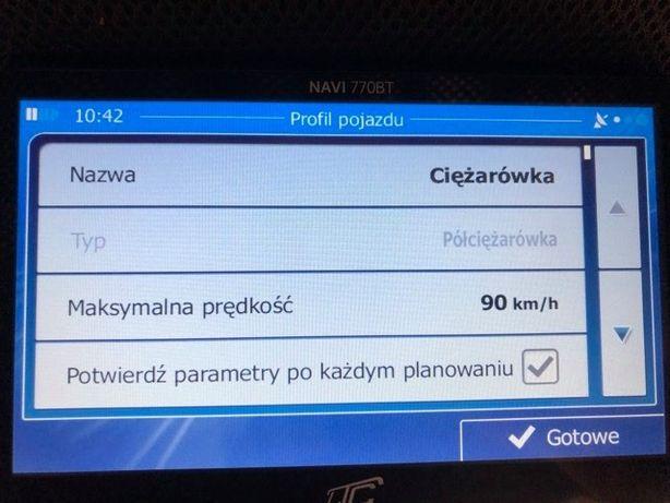Nawigacja na Ciezarowke TRUCK TIR Kamper IGO PRIMO 2020 Q4