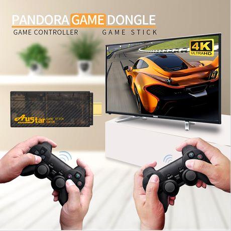 HD видео игровая консоль. 10000 встроенных классических игр 4K ТВ