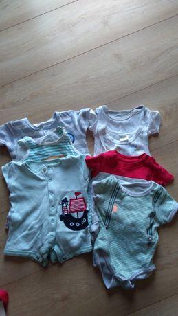 Ubrania dla chłopca krótki rękaw. Rozmiar 62