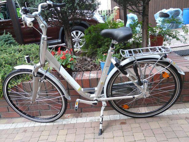 """Rower SPARTA RX 28"""" damka 53 cm- rower markowy z Koszykiem"""