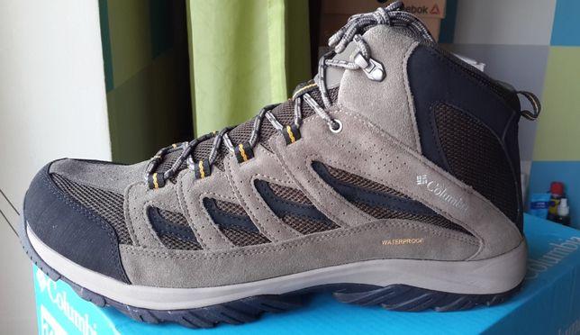 Columbia Новые Оригинал Кожаные Ботинки Зимние 49