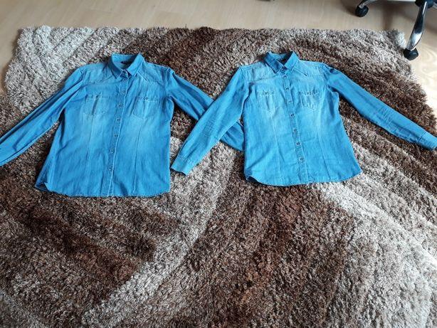 Ładne koszule jeansowe damskie rozm.  L i S
