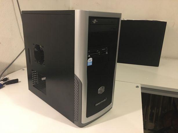 Komputer PC Q6600 geforce gt210 4gb ram cooler master