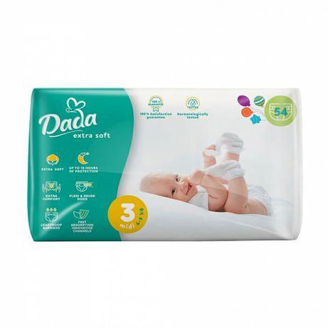 Подгузники памперсы Dada Extra Soft 3 (4-9 кг), 54 шт