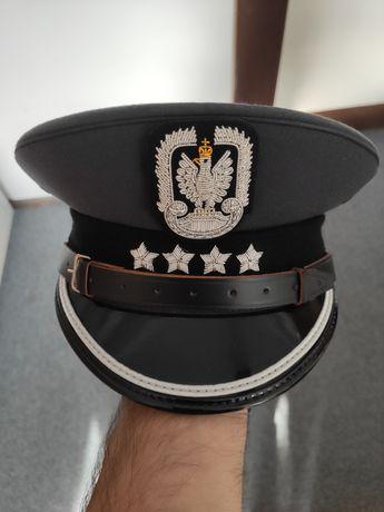 Nowa czapka garnizonowa galowa Sił Powietrznych kapitan z otokiem