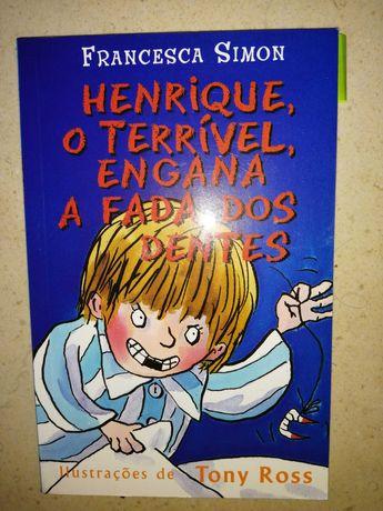 Livro 'Henrique, O Terrível' de Francesca Simon