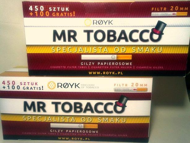 Гильзы Mr.Tobacco 550 шт. фильтр 20 мм!