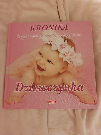 Kronika dla niemowlaka- dziewczynka