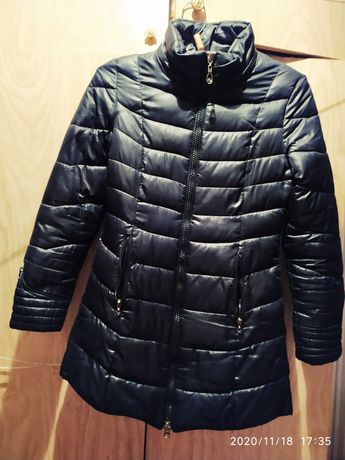 Продам черное  пальто