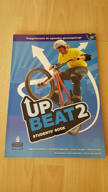 NOWY Up Beat 2 Student's Book + płyta