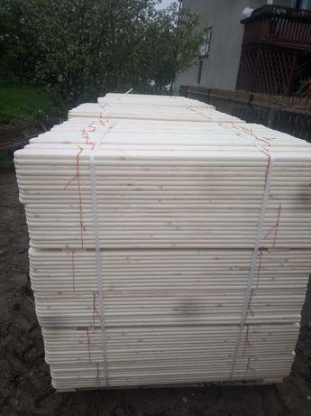 Sztachetki drewniane (świerkowe)