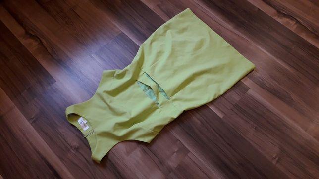 Sukienka limonka L